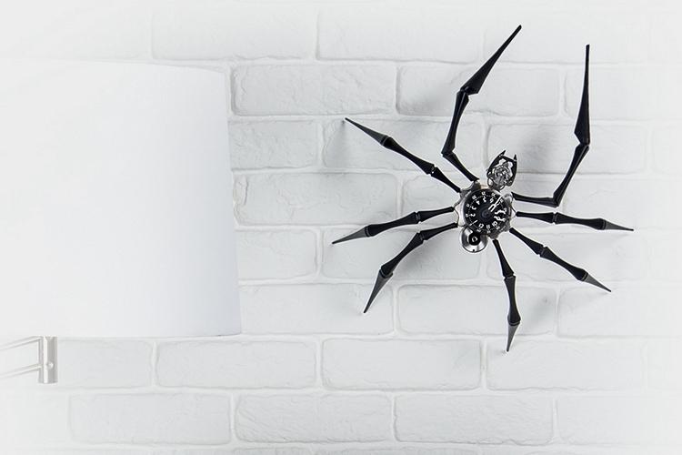 MB&F Arachnophobia clock