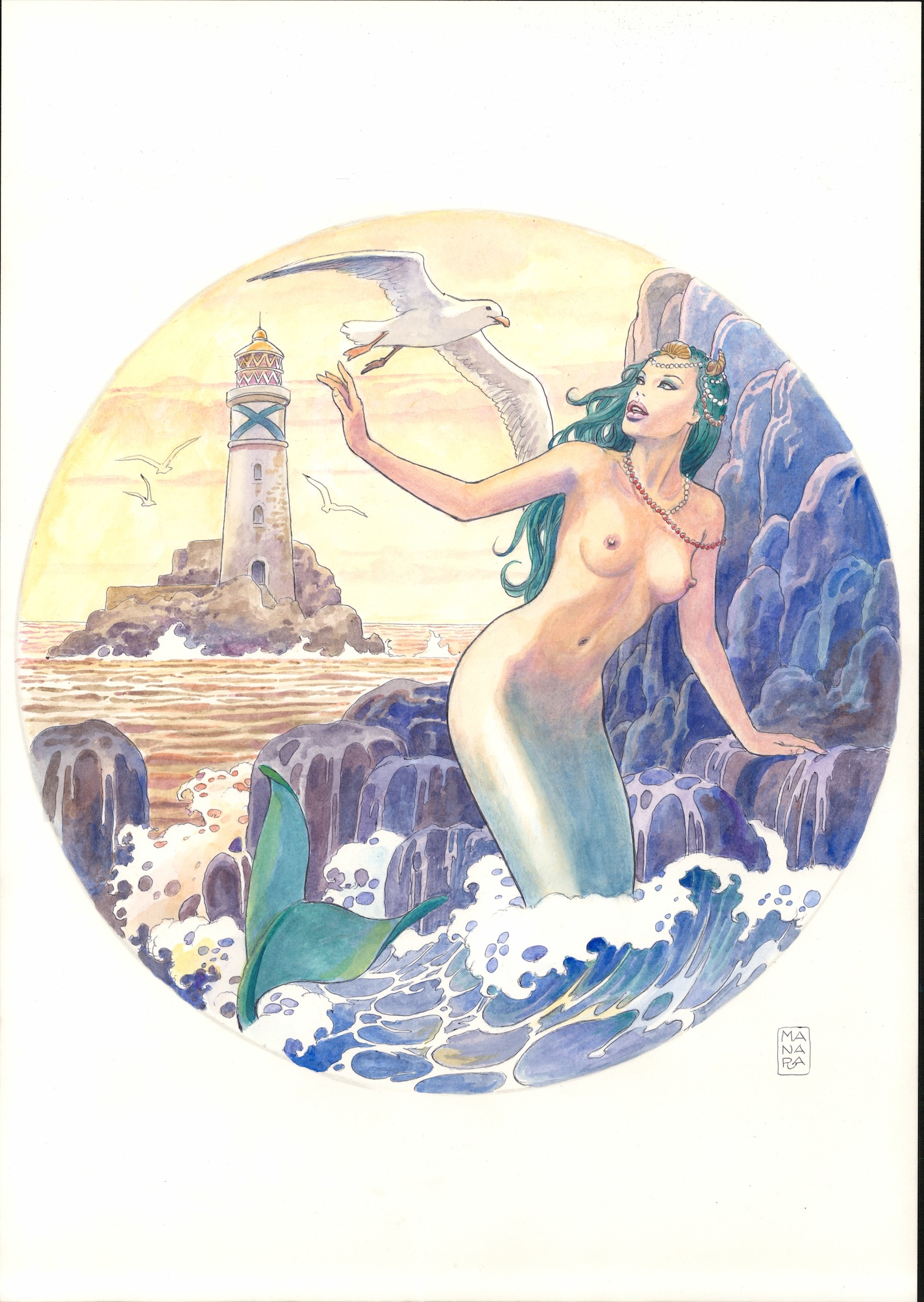 Ulysse Nardin Classico  erotic watches are deigned by Milo Manara.