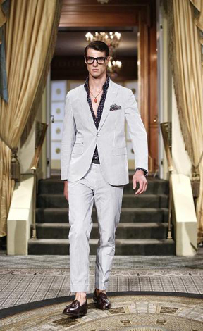 A tailored look for the 2014 spring/summer season