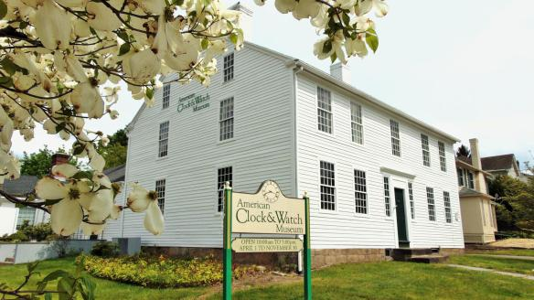 Clocks and American matchmaking history are the focus at the American Clock & Watch Museum.