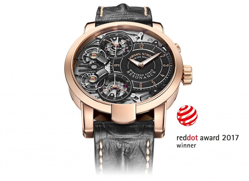 Armin Strom Wins the International Red Dot Award for the Mirrored Force Resonance Watch