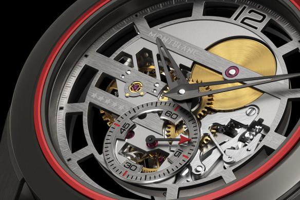 The Montblanc Pythagore Ultra Light Concept watch weighs less than half an ounce.