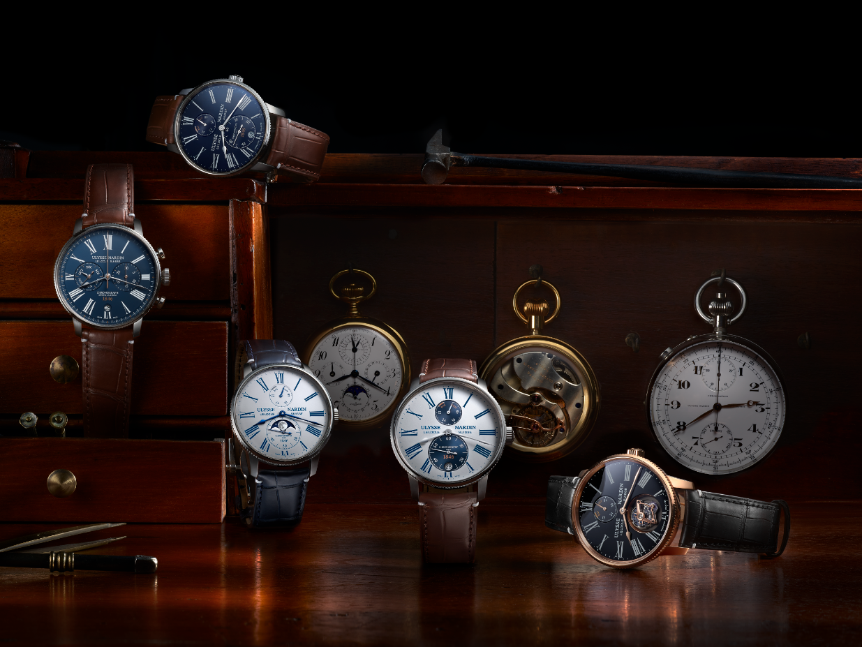 Ulysse Nardin Marine Torpilleur new watches