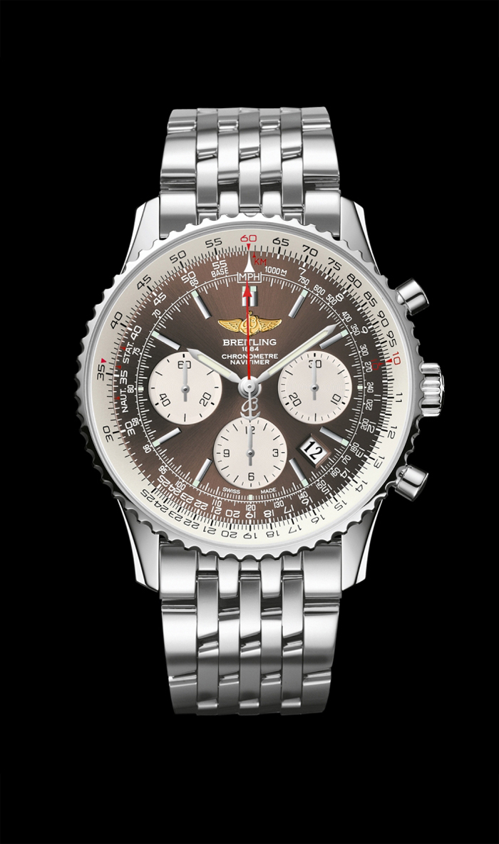 Breitling Navitimer 01 Panamerican with bronze dial