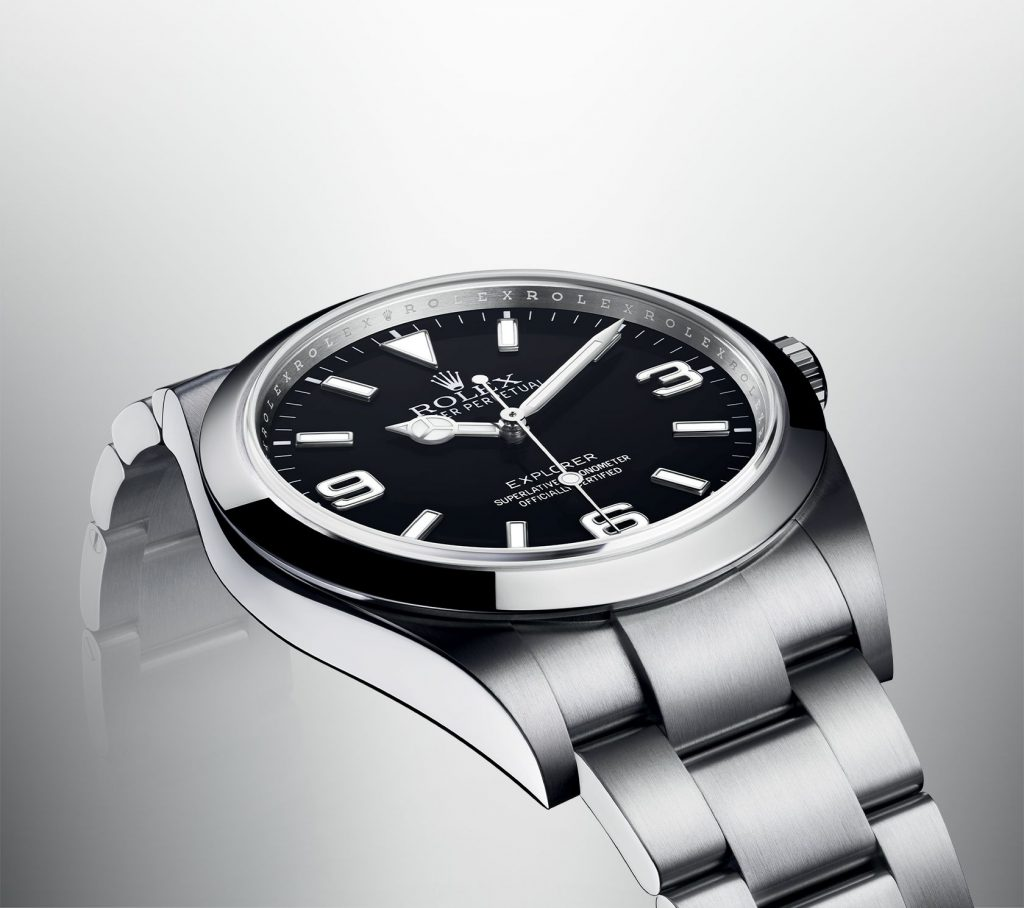 The new Rolex Explorer watch out this year is a 39mm stainless steel beauty.
