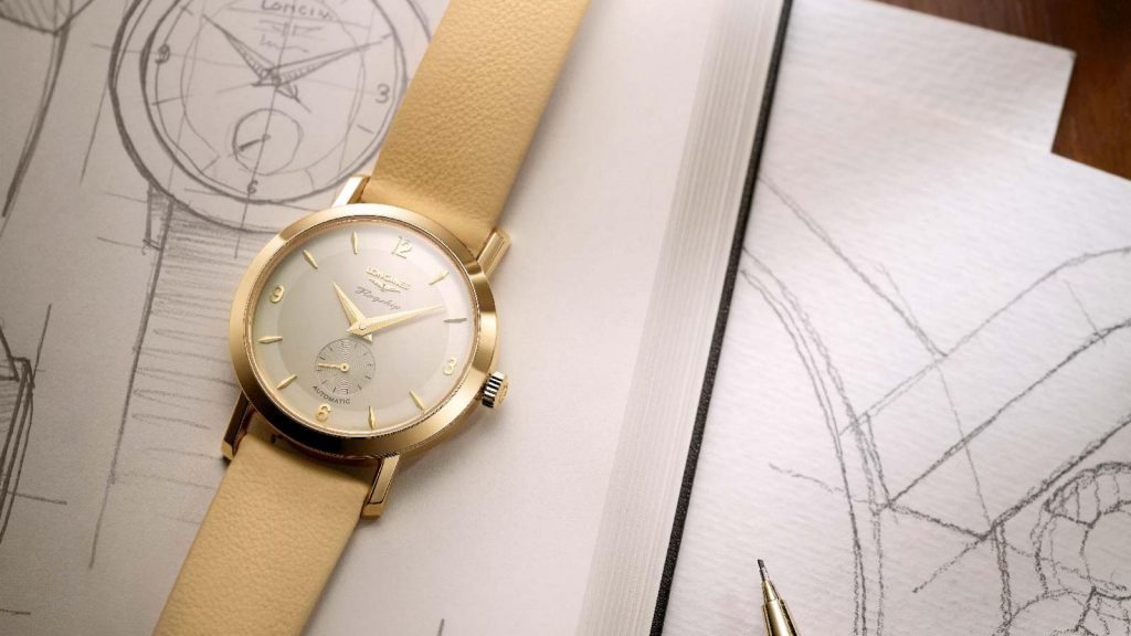 The Longines Flagship Heritage by Kate Winslet watch was made in a limited edition of five pieces, with three currently being auctioned on line.