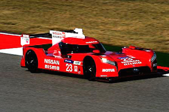 The new Nissan GT-R LM NISMO testing in preparation for its 2015 FIA World Endurance Championship and Le Mans 24 Hours debut.