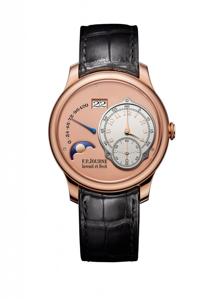 The Nouvelle Octa Lune from FP Journe is offered in 40 and 42mm sizes.