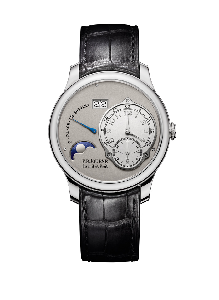 FP Journe Nouvelle Octa Lune houses a 289-part movement made in gold