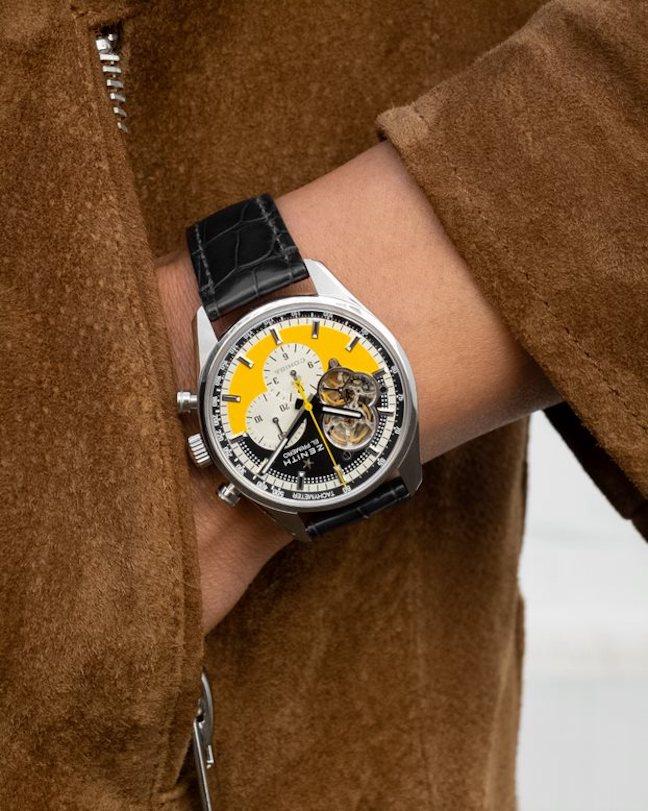 Zenith Chronomaster Open Cohiba 55th anniversary watch