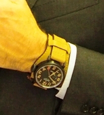 The new Zenith- on the wrist.