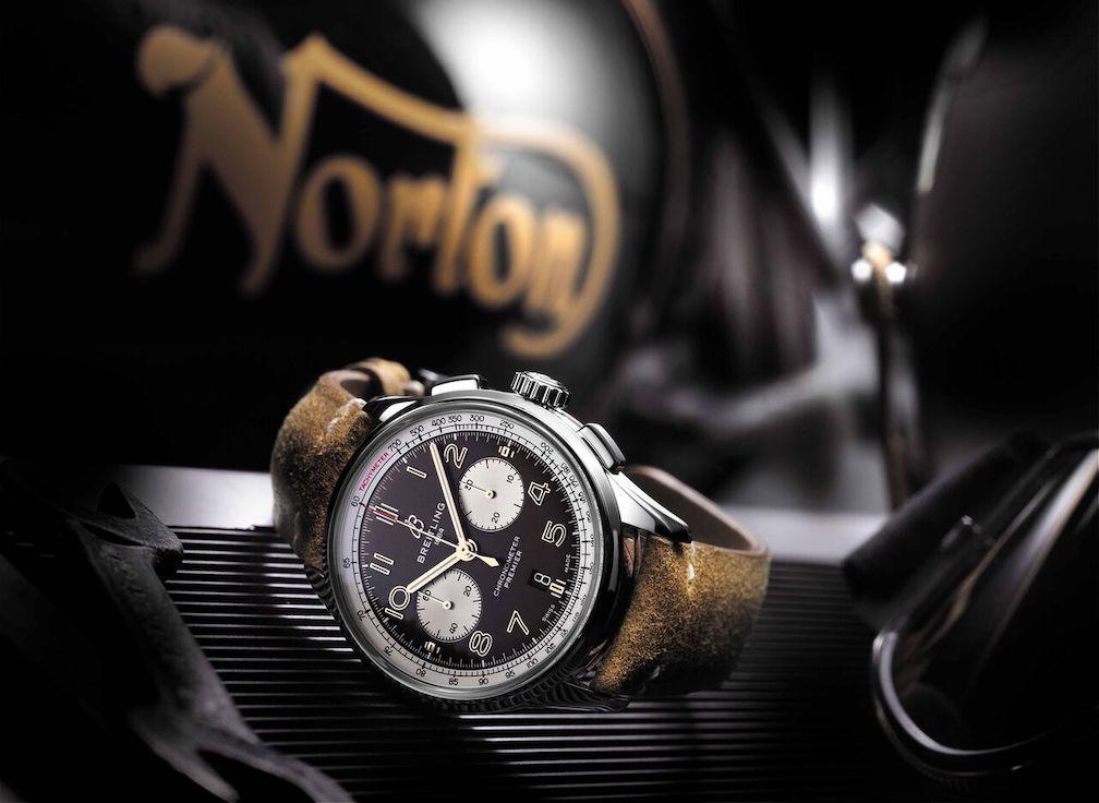 Breitling, Norton, Adam Driver
