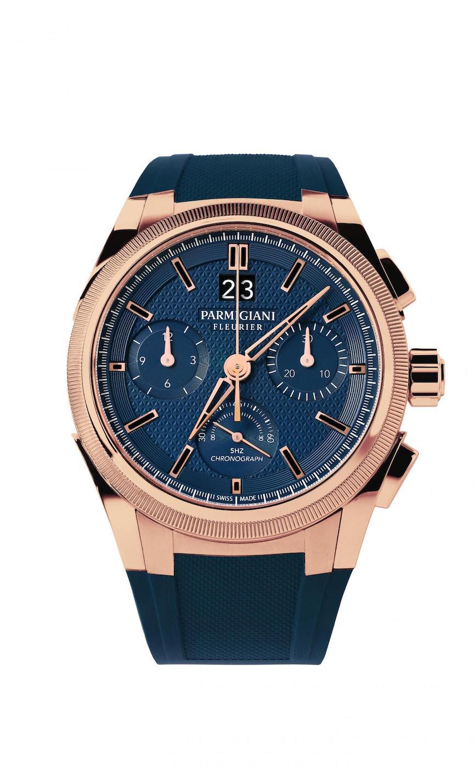 Parmigiani Fleurier Tondagraph GT Rose Gold Blue, Watches  & Wonders Shanghai
