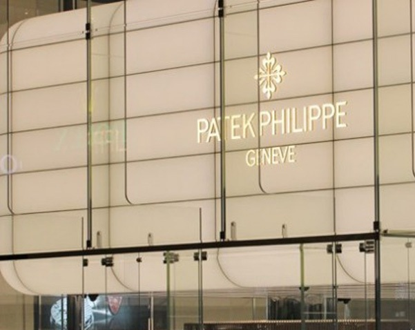 The new Patek Philippe booth at BAselWorld 2014 was a multi-storied work of light and openness.