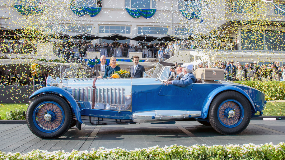 Pre-War-Era 1929 Mercedes Benz S Barker Tourer wins Rolex Best of Show at Pebble Beach Concours d'Elegance 2017