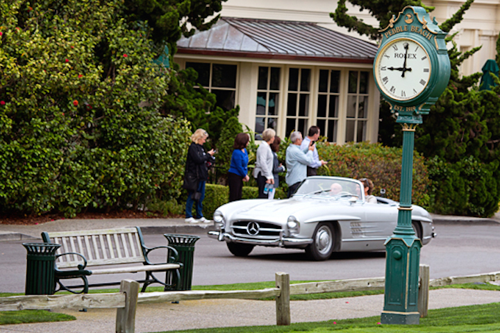 Rolex is the Official Timepiece of the Pebble Beach Concours d' Elegance