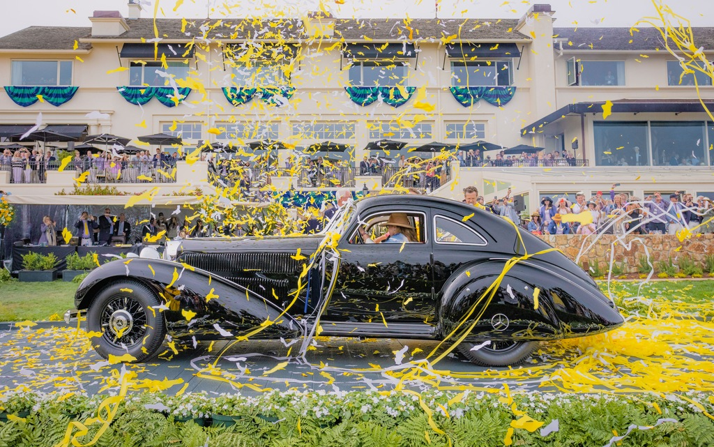 Best of Show at 2021 Concours d' Elegance in Pebble Beach
