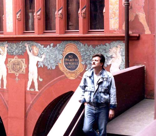 In Basel in the mid 1980's.