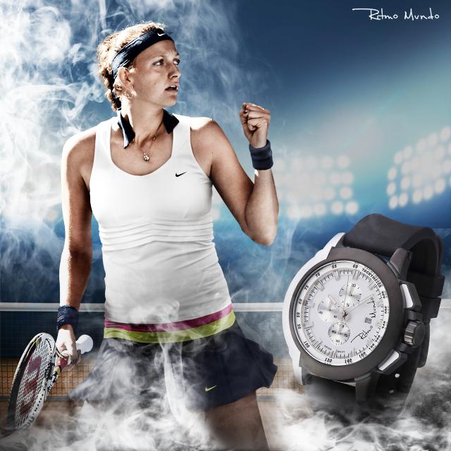 Petra Kvitova -- tennis star and Ritmo Mundo brand ambassador.