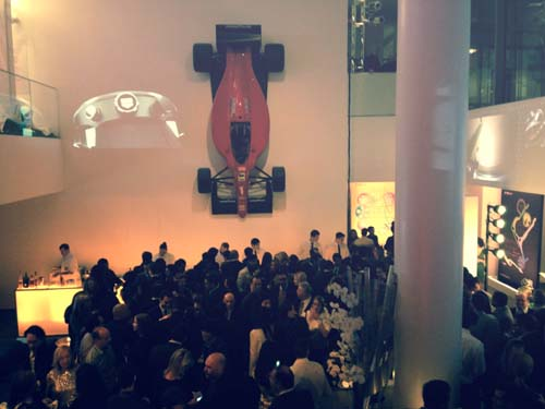 The after-party at MOMA featured exciting TAG Heuer highlights.