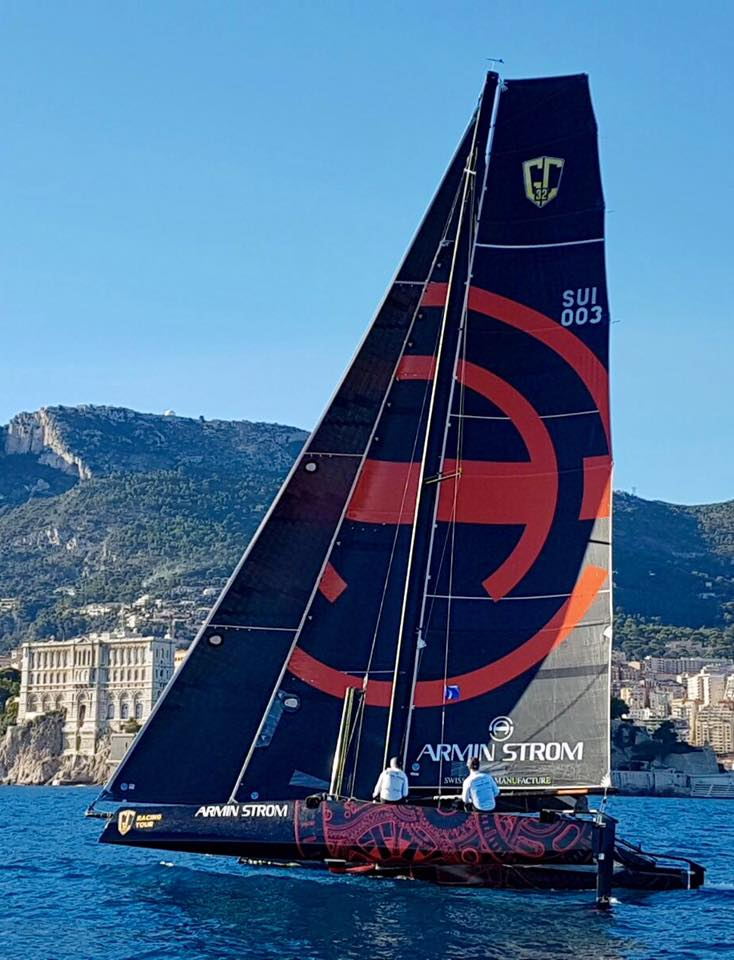 The Armin Strom Sailing Team is the longest-standing team in the GC32 Racing
