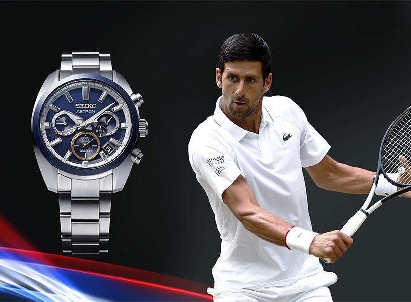 Seiko, Novak Djokovic