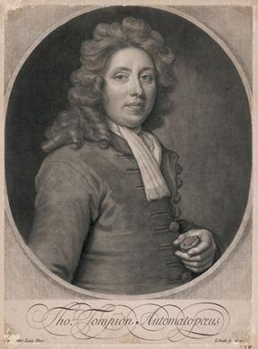 Thomas Tompion, British clockmaker