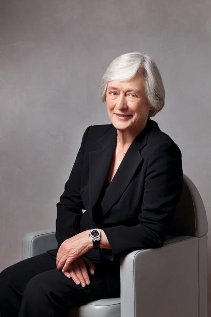 Jasmine Audemars, chairman of  the  board of The Audemars Piguet Foundation.