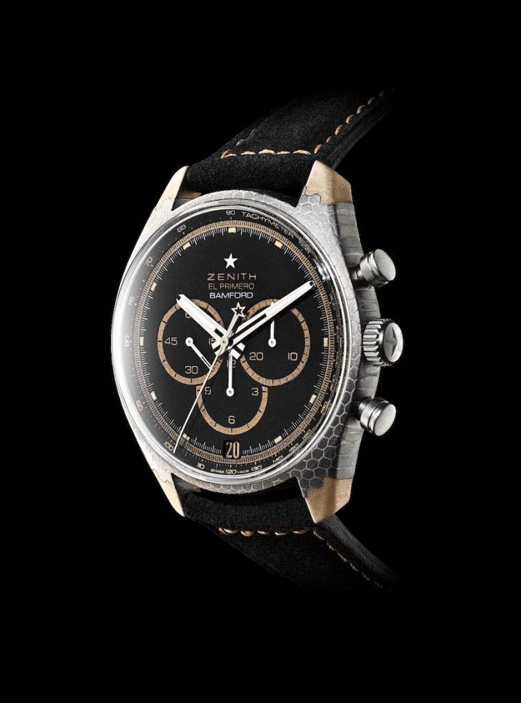 Bamford Watch Department x Black Badger Zenith El Primero