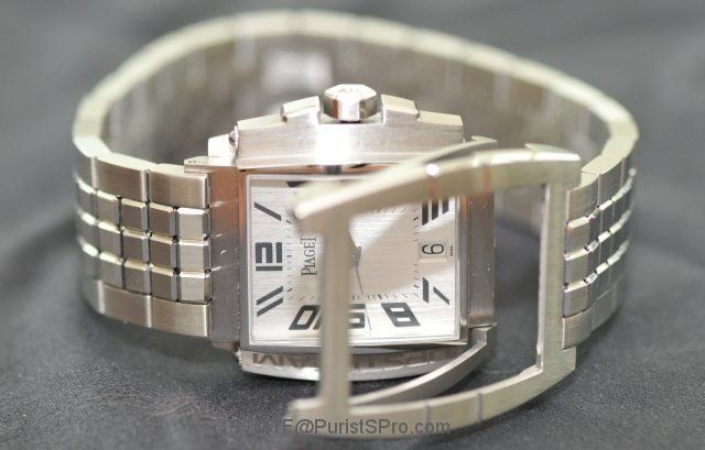 Piaget Upstream, introduced in 2001, was the most recent steel watch introduced since the 1950's, but that line was also made in precious metals.
