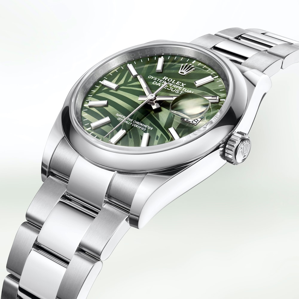 Rolex Oyster Perpetual Cosmograph Daytona with palm fronds dial.