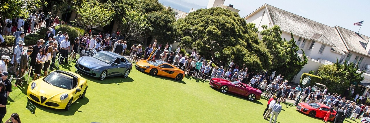 The crowning jewel event of the week is the Concours D'Elegance Pebble Beach, where only one car can win Best of Show.