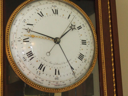 Dial of the complex Robin clock.