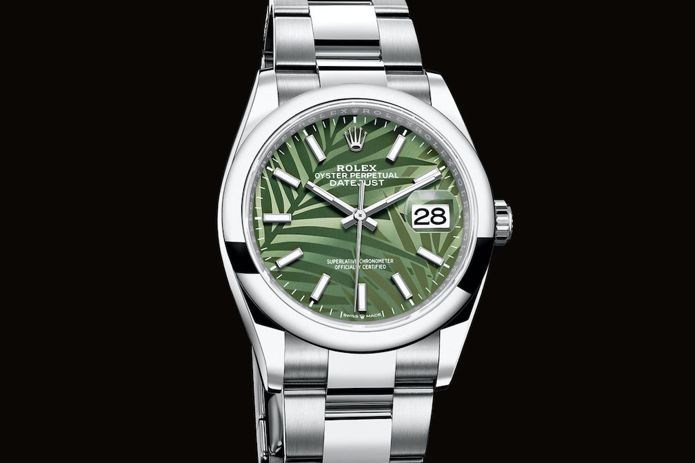 Rolex Oyster Perpetual Datejust 36 Exotic Palm