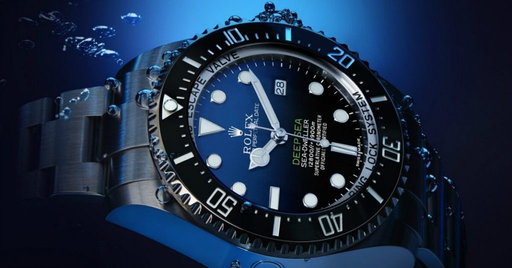 Rolex Deepsea D-Blue Dial carries the Rolex Superlative Chronometer Certification