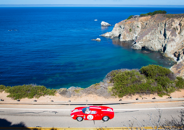 The Tour D'Elegance presented by Rolex is a non-competitive drive along 80 miles os scenic roadway.