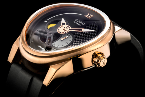 William Shatner and Egard collaborated for this Passages watch.