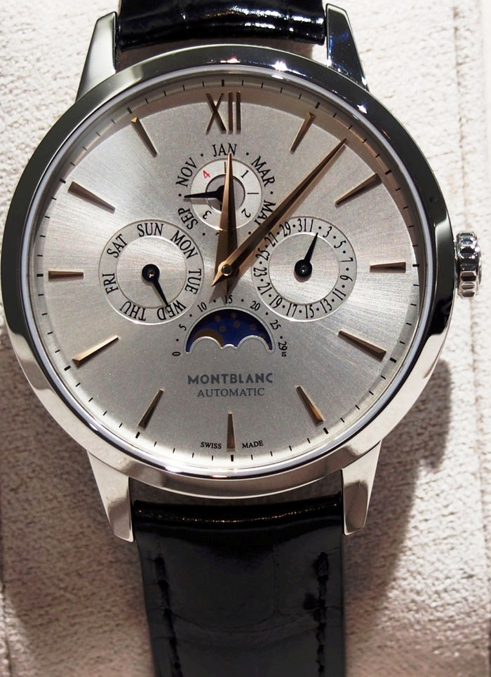 The Montblanc Meisterstuck Heritage Collection Perpetual Calendar set the price record  for most affordable  top-notch, Swiss made perpetual calendar.