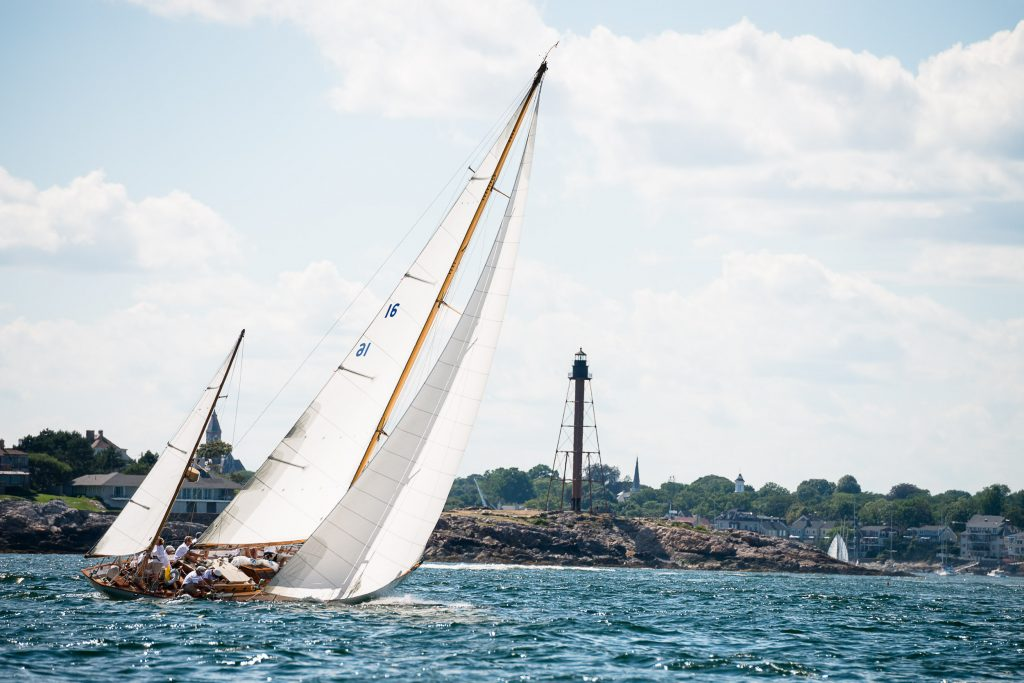 Dorade sailing in the Marblehead Corinthian Classic Yacht Regatta. Photo by Cory Silken / Panerai, © Cory Silken 2016.