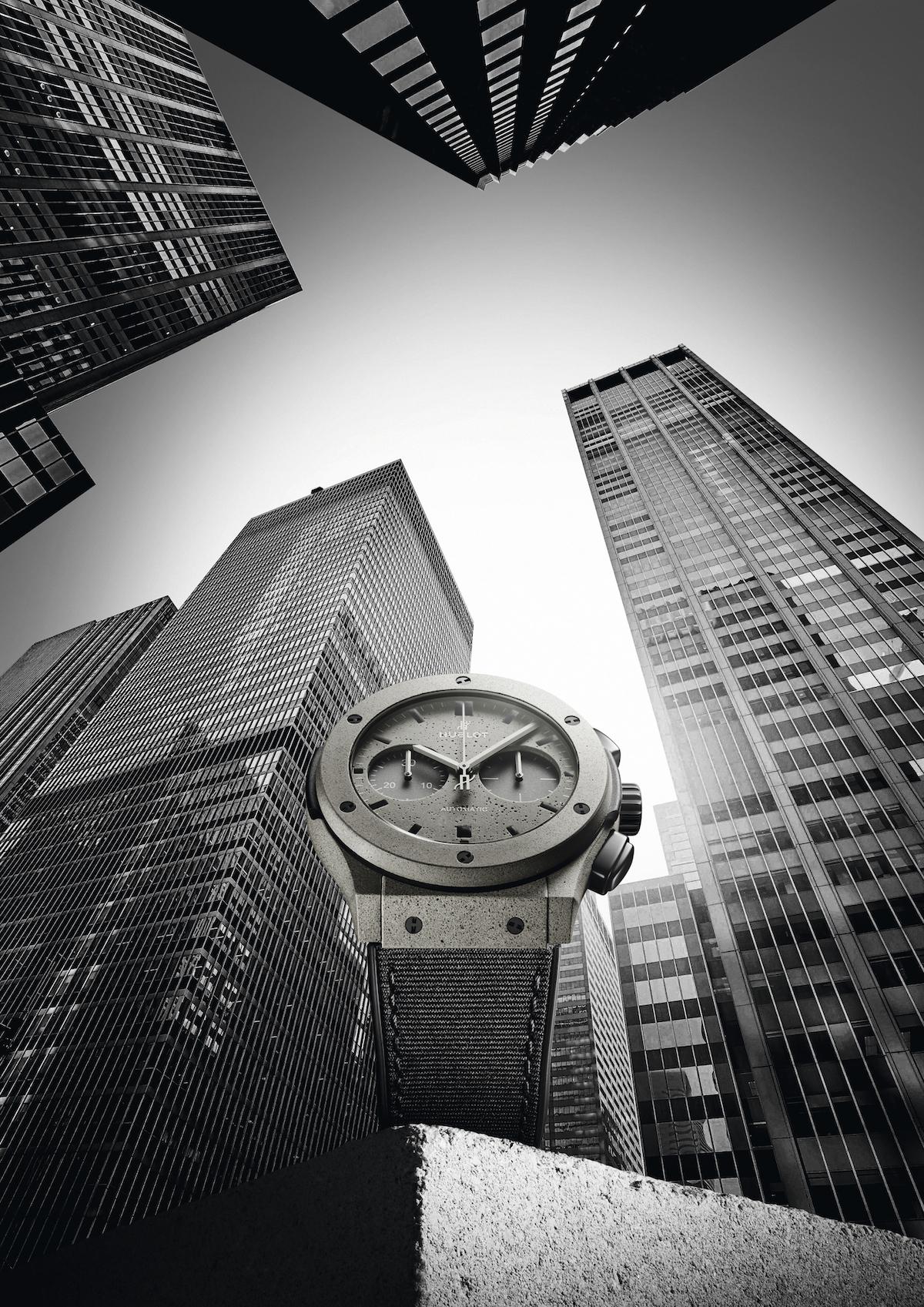 Hublot Concrete Jungle New York watch