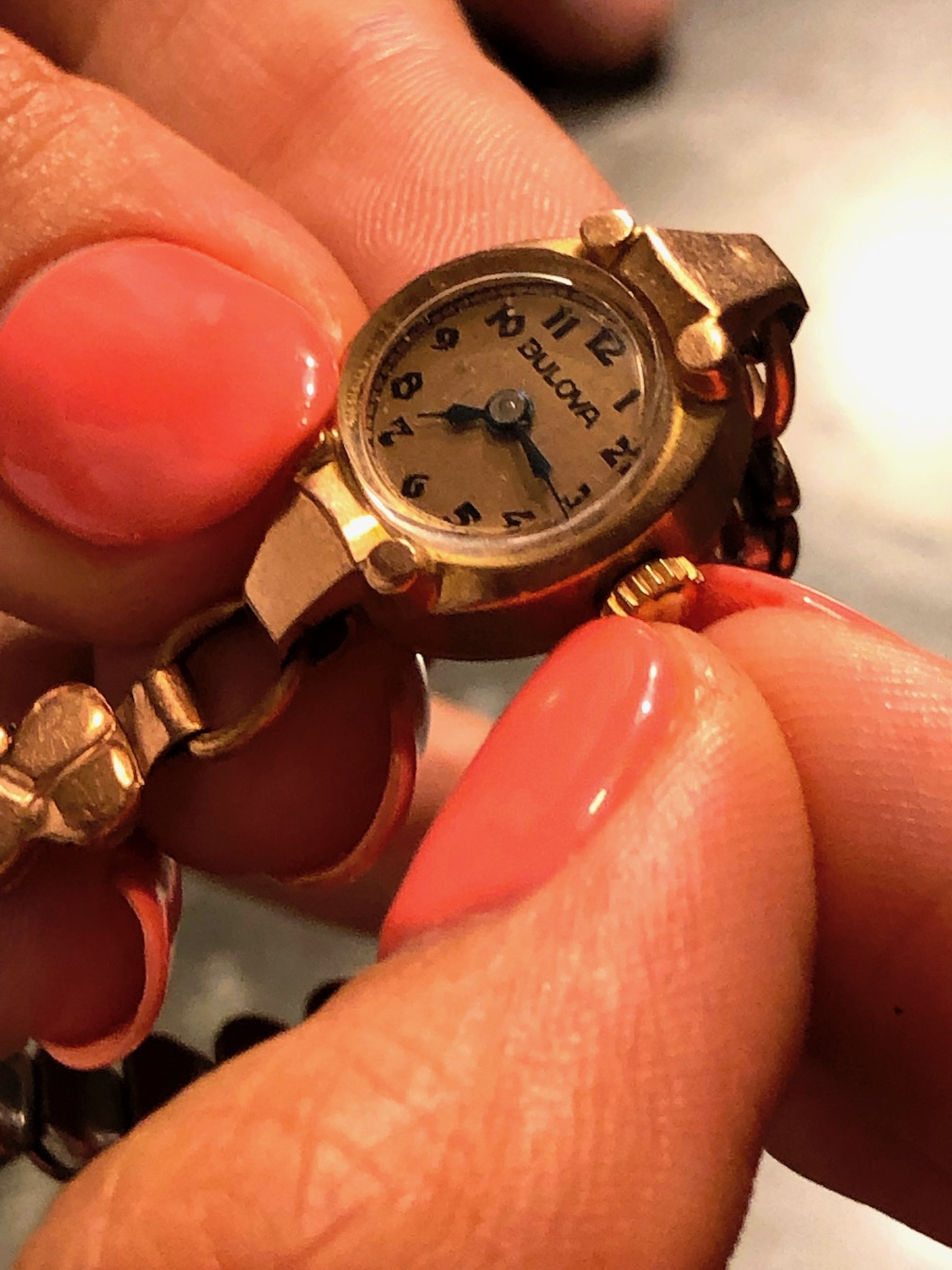 Restoring vintage watches