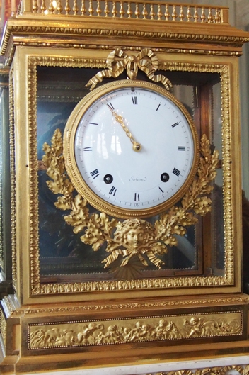 Neoclassical style Sotian Clock in Petit Trianon.
