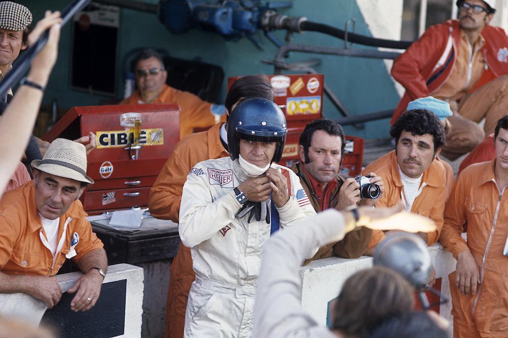 Steve McQueen, Le Mans, Heuer Monaco