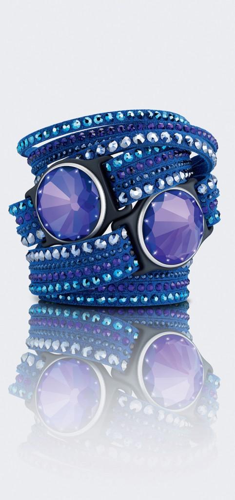 Swarovski Shine Violet Slake Activity Jewelry