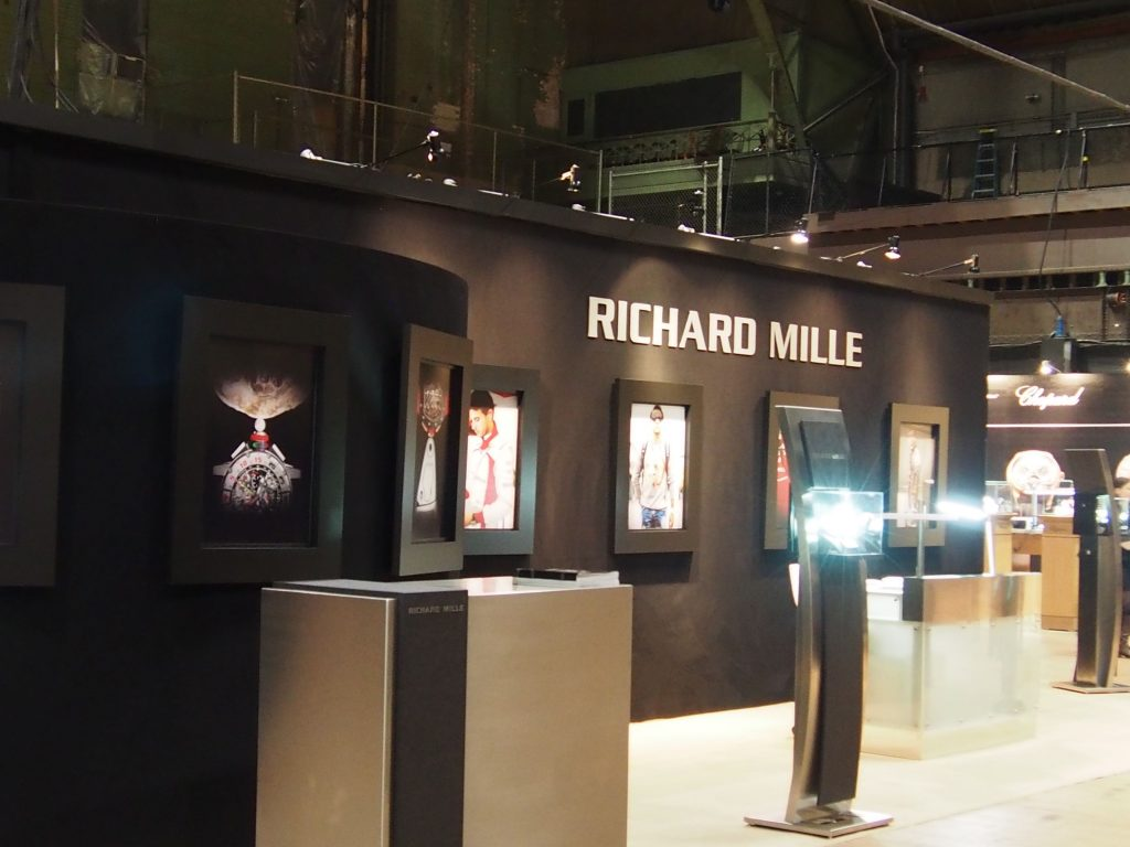 Mille exhibit at TimeCrafters