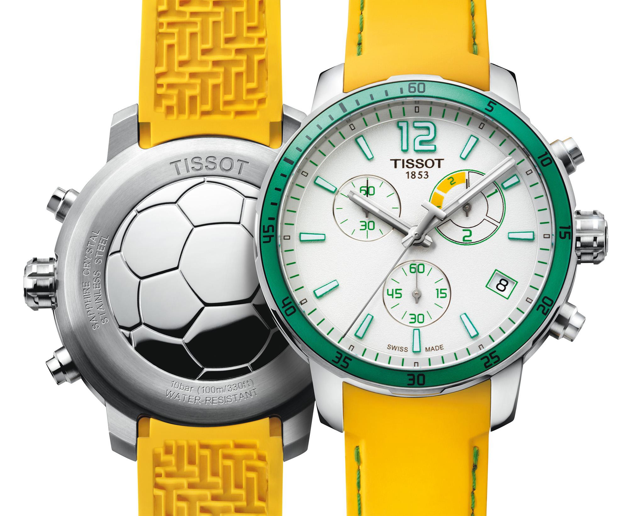 Tissot: Quickster Football watch