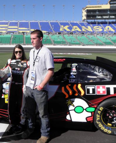 Racing with Tissot: Danica Patrick, Ryan Walsh