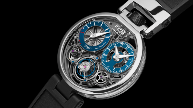 Bovet Pininfarina Ottentasei Tourbillon platinum watch