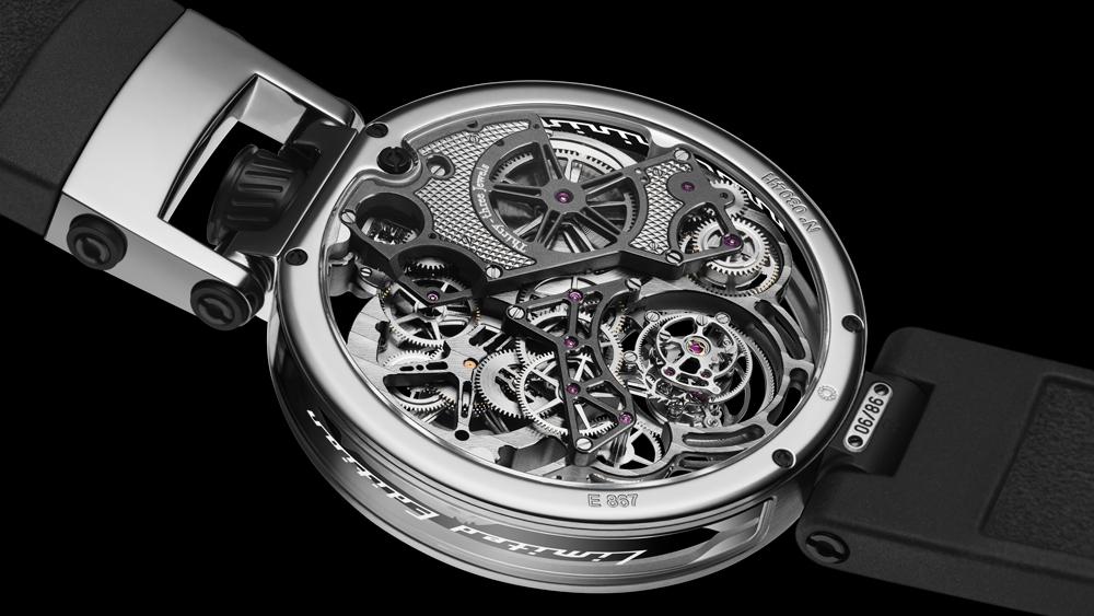 Bovet Pininfarina Ottentasei Tourbillon platinum watch