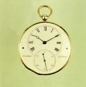 F.P. Journe's first pocket watch, created in 1983.